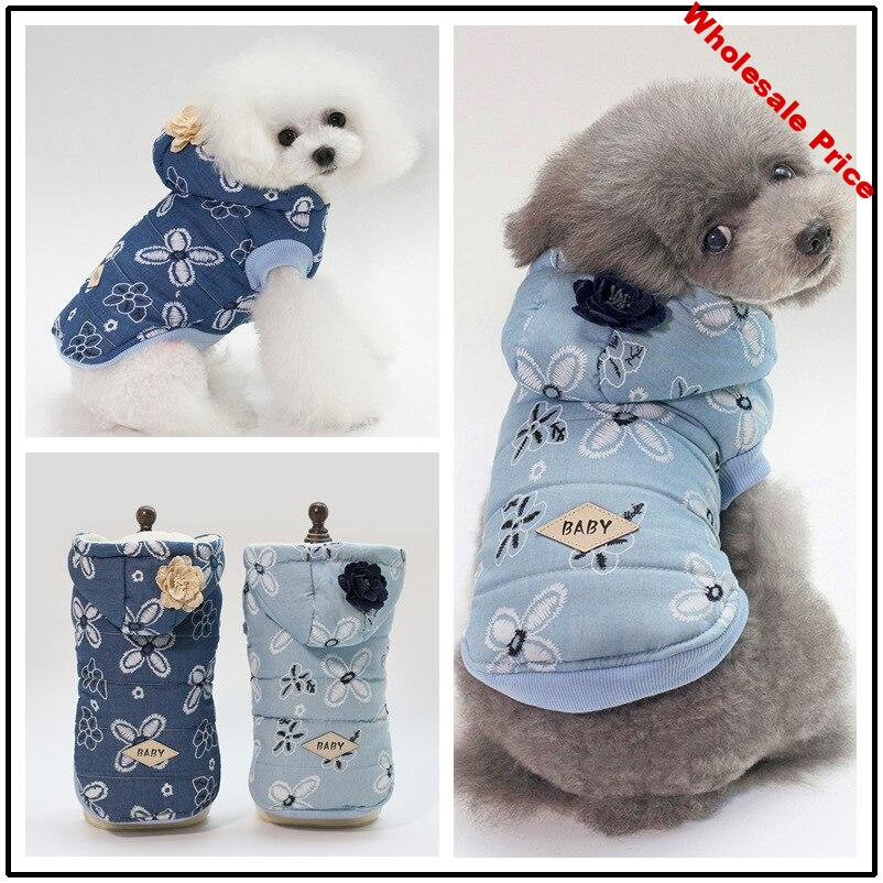 Dog Coat Winter Warm Soft Comfort Clothing For Small Dog Jacket Clothes Pet Puppy Clothes Cotton Dog Coat
