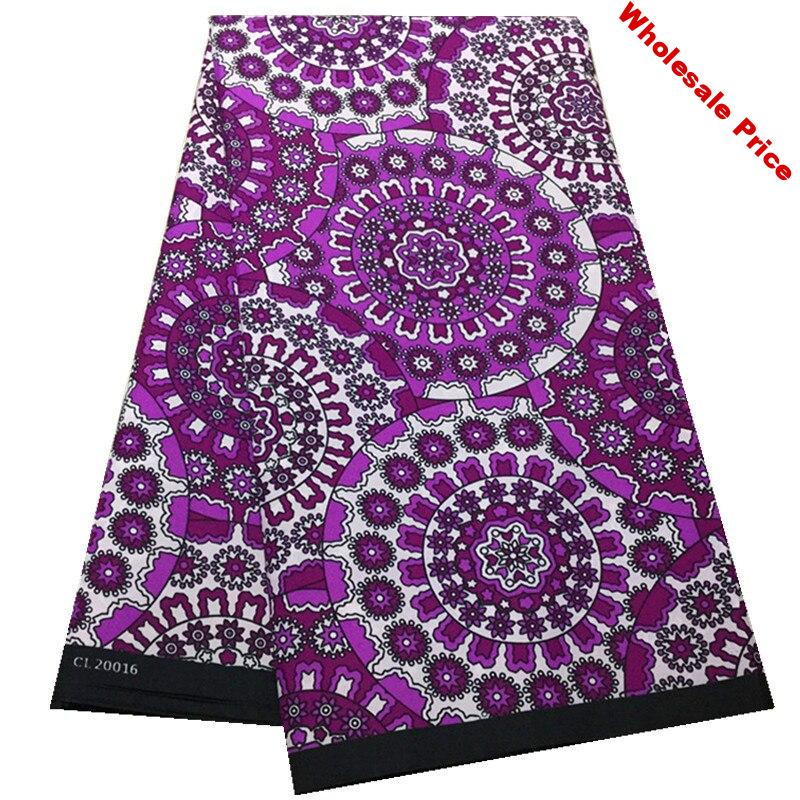 wholesale 100% polyester wax fabric for dress latest design tissue african wax print fabric 6yards ankara african wax prints