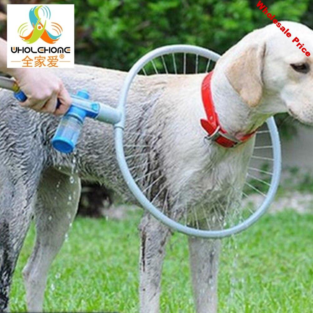 2016 Hot Sell Woof Dog Washer 360 Degree Bath Shower Washer Pet Cleaner Dog Accessories