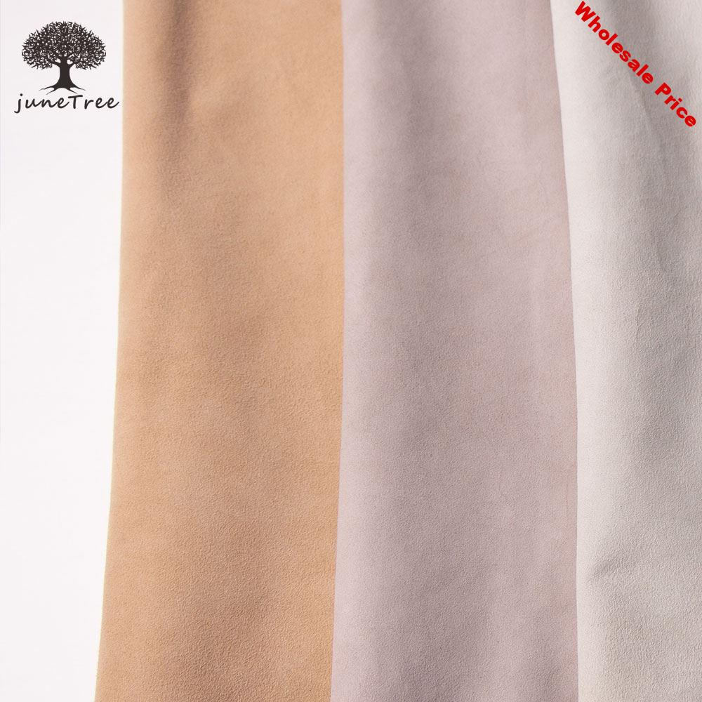Junetree High quality Sheep skin leather Genuine leather suede face leather soft whole skin leather craf 1.0-1.2mm thick genuine