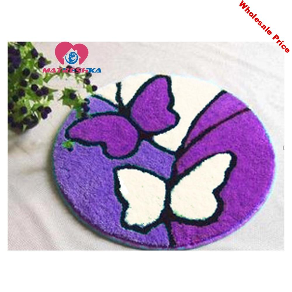 butterfly latch hook rug kits needle for carpet embroidery crochet and knitting Foamiran for crafts klink haak kleed