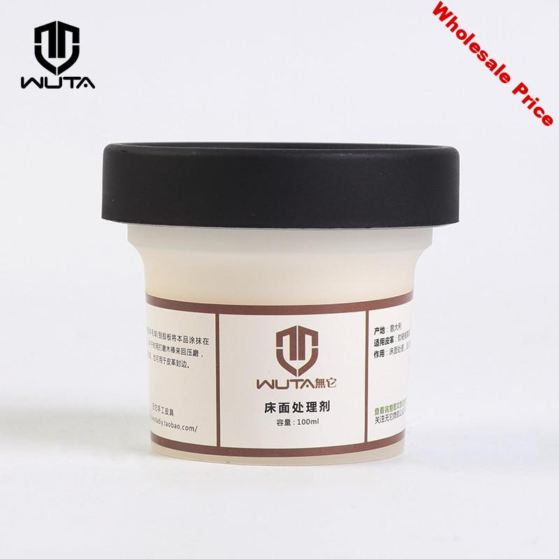 WUTA Italy Imported Leathercraft Tokonole Leather CMC Tragacanth Burnishing Gum Clear & Smooth Treatment Agent Handcraft Sewing