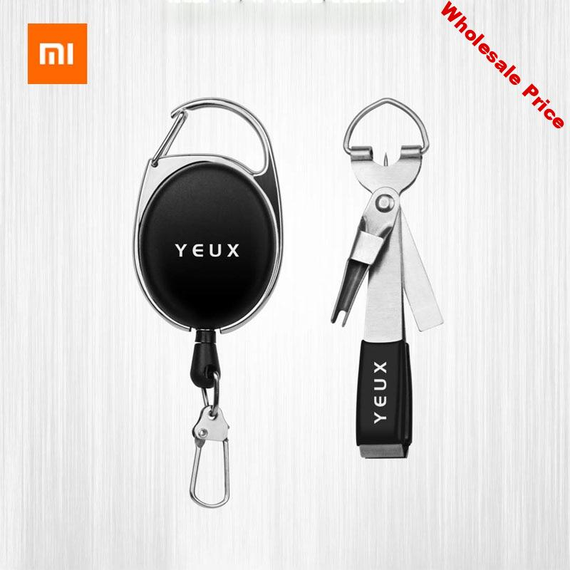 Xiaomi YEUX Portable Multi-purpose Fishing Tie Fast Tie Nail Knotter Line Cutter Sharpener Fly Tying Tool Fishing Tackle Gear