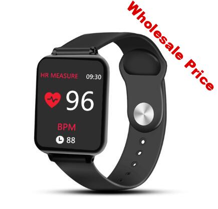 B57 Smart watch  with box Sport watch for iphone IP67 Smartwatch Heart Rate Monitor Blood Pressure Functions For Women men kid