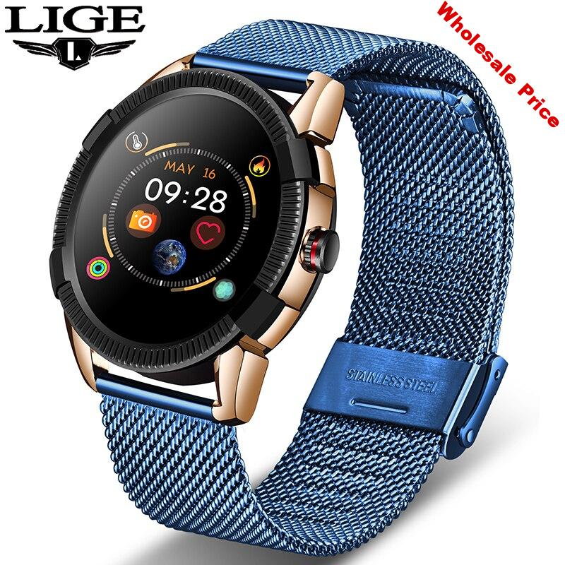 New Smart Watch Men Smart Fitness Watch heart rate blood Pressure Monitor waterproof Pedometer for Android ios Smart Watch Women