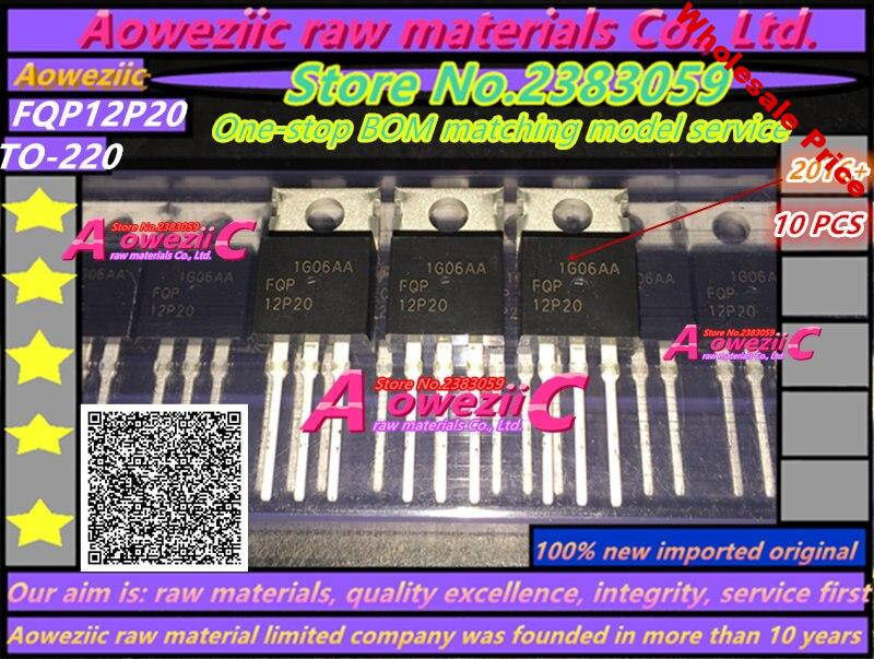 Aoweziic  2016+  100% new imported original  FQP12P20  12P20   TO-220  MOS field effect tube 200V 11.5A