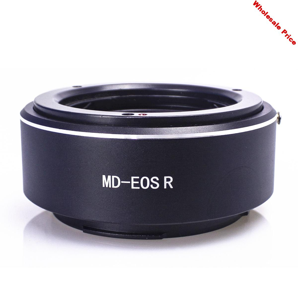 Lens Adaptor Mount Ring for Minolta MD Lens and Canon EOS R RP R5 R6 EOSR RF Camera Body
