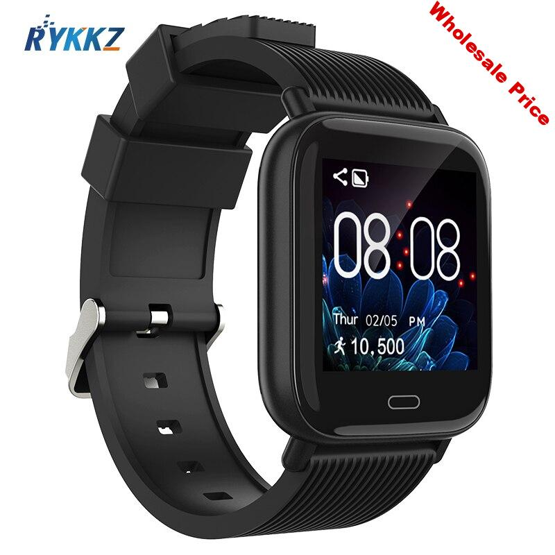 Smart watches Waterproof Sports for iOS Android Phone Smartwatch Heart Rate Monitor Blood Pressure Functions For Women men kid