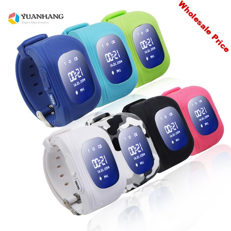 Q50 Smart Kid Safe GPS Watch Wristwatch SOS Call Location Finder Locator Tracker Kid Baby Anti Lost Monitor App For IOS& Android