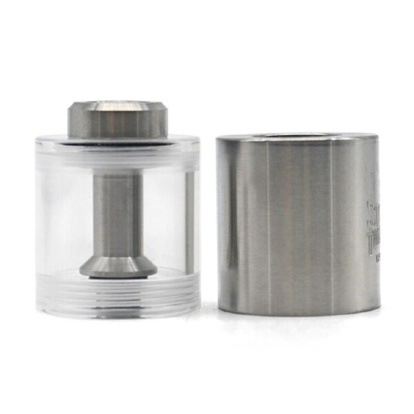 Replacement PMMA + SS Bell Cap w/Short Chimney for FEV 3/4/4.5 rta 3.5ml
