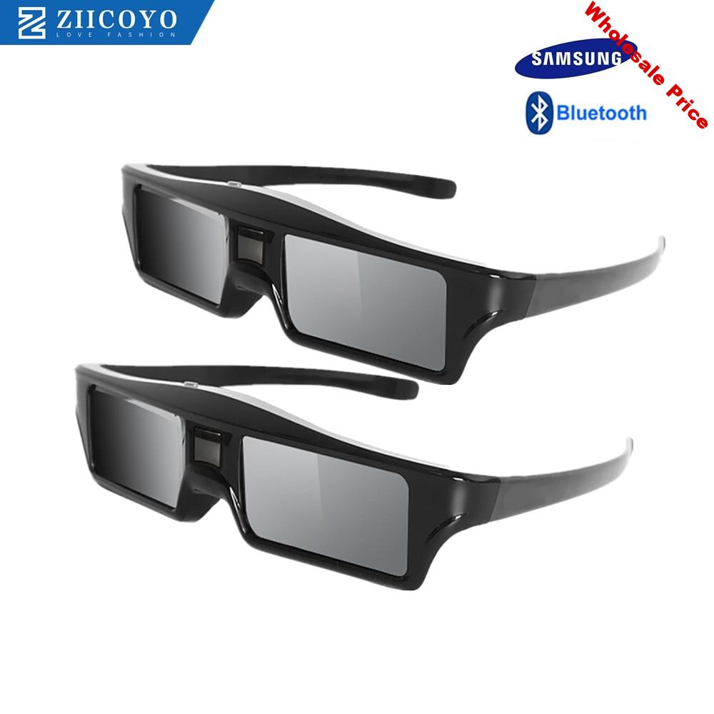 2pcs/lots Bluetooth Active Shutter 3D glasses Replacement Sony Samsung SSG-5100GB Epson RF3D Glasses ELPGS03 3D Glasses 3D TV