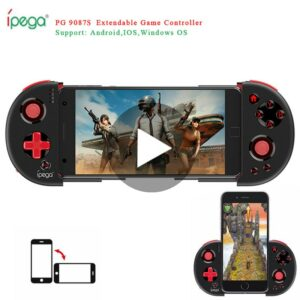 Console Game Pad Bluetooth Gamepad Controller Pubg Mobile Trigger Joystick For iPhone Android Cell Phone PC Smart TV Box Control