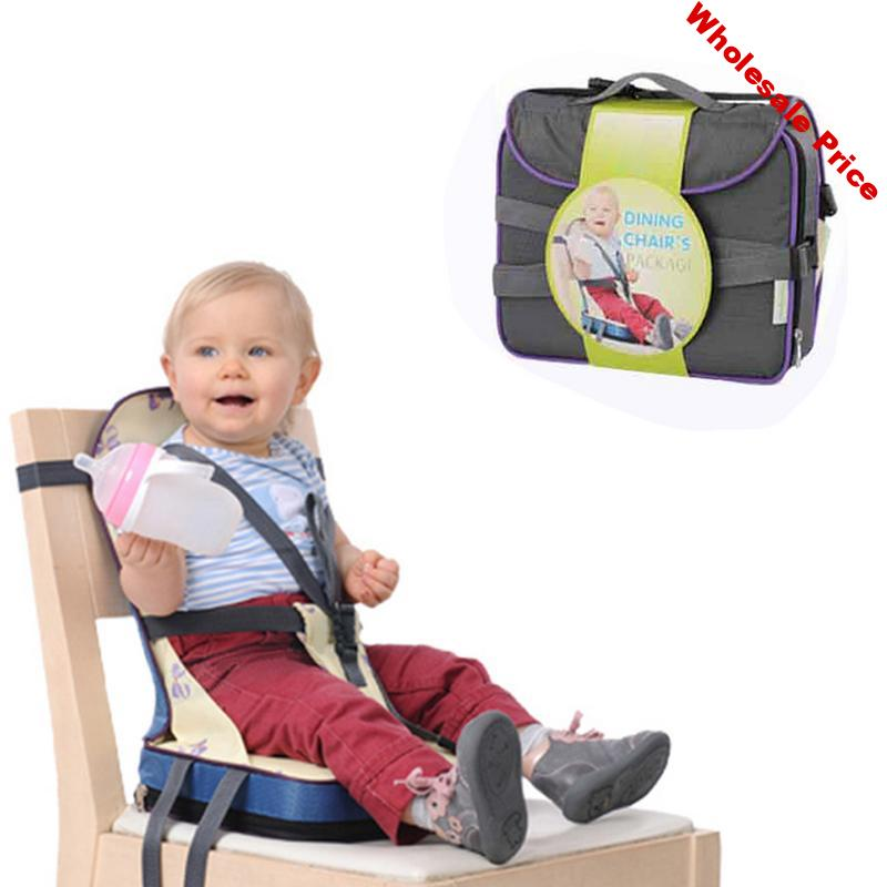 New Baby Dining Chair Bag Portable Chair Portable Dining Chair Foldable Washable Infant Lunch Chair Pad Good Quality