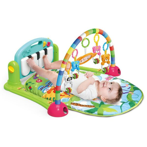 Children Fitness Rack Baby Toys Pad Piano Music Blanket Early Intellectual Development Activity Mats 2019 Hot Sale Gift Toy Mat