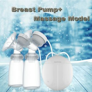 Double Electric Breast Pumps Automatic Massage Postpartum Breast Pump Baby Breast Feeding Milk Extractor Accessories With USB