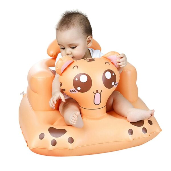 High Quality Multifunctional Inflatable Sofa Inflatable Seat Baby Dinner Chair Portable Bath Stool For Babies