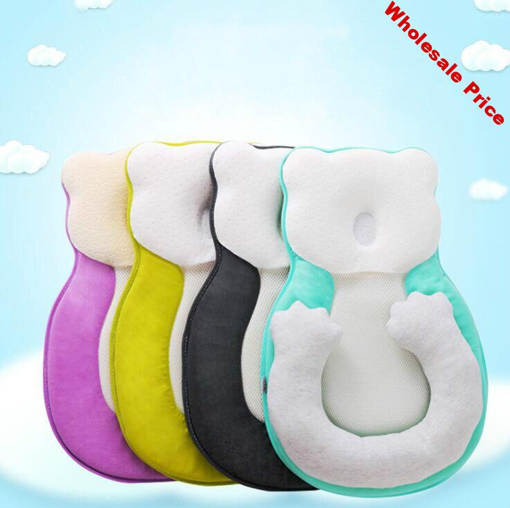 Baby Anti-rollover Mattress Pillow Newborn Prevent Flat Head Infant Sleep Positioner Cushion for Toddler Baby Stereotypes Pillow