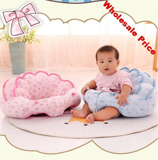 Baby Seats Sofa Support Seat Baby Plush Support Chair Learning To Sit Soft Plush Toys Travel Seat PP Cotton Without Filler