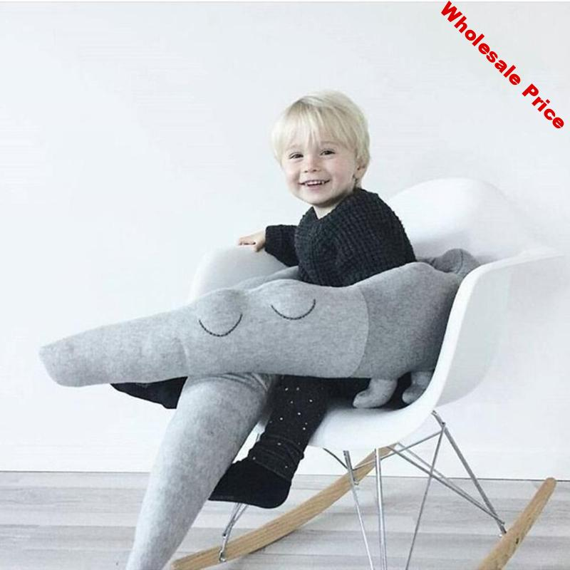 185cm Baby Bed Bumper Protector Newborn Baby Cushion Infant Bed Crib Children Crocodile Pillow Toddler Kids Room Decoration Toys