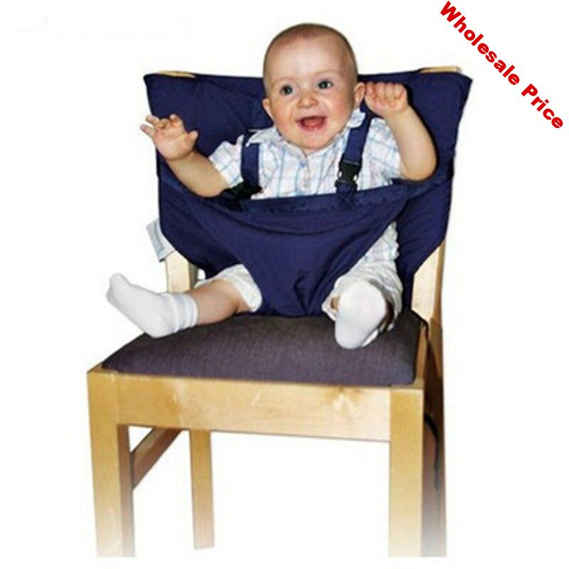 Portable Baby Dining Chair Safety Infant Foldable Seat Baby High Chair Dining Seat Child Washable Feeding Cover Seat