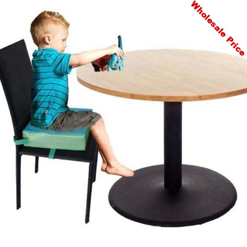 Adjustable Baby FuToddler Washable Portable Chair Booster Seat Pads Removable Cover Foldable Dining Chair Heightening Cushion
