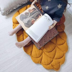 2019 New Arrived Creative Funny Pine Cone Shape Baby Blanket Play Game Mat Kid Crawling Carpet Children 's Home Decor Best Gift