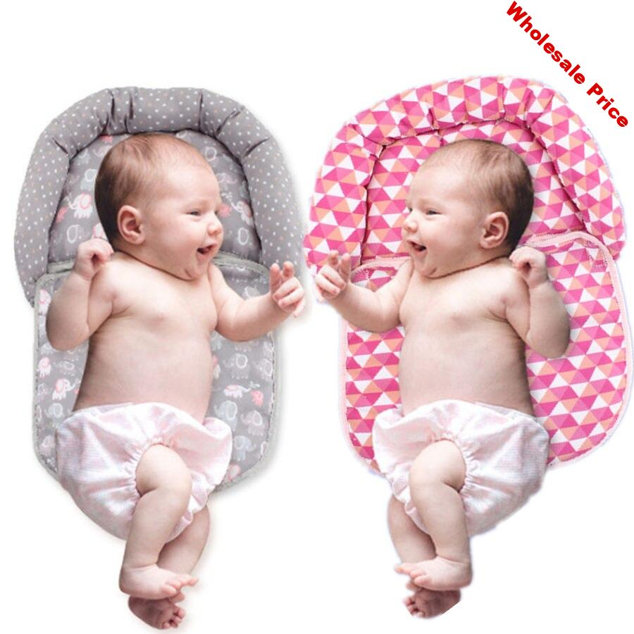 Baby Stereotypes Pillow Head Qualitative Infant Newborn Sleeping Anti-rollover Pillow Toddler Baby Sleep Positioning Pad Pillow