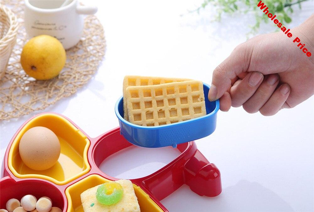 Children Lunch Box Food Fruit Storage Container Portable Bento Box Food-safe Picnic Container Gifts plane model