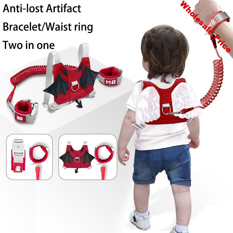 Dropshipping Baby Anti Lost Wrist Link Toddler Leash Safe Harness Strap Rope Outdoor Walking Hand Belt Band Anti-lost Wristband