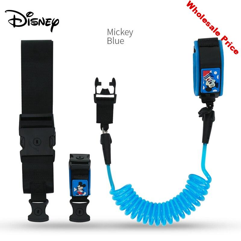 Disney Baby Anti Lost Wrist Band Wristband For Travel link Toddler Leash Safety Harness Strap Rope Outdoor Walking Hand Belt