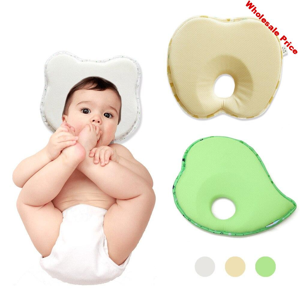 Newborn Baby Stereotypes Pillow Infant  Anti-rollover Mattress Pillow Baby Sleeping Positioning Pad Cotton Pillow Head Protect