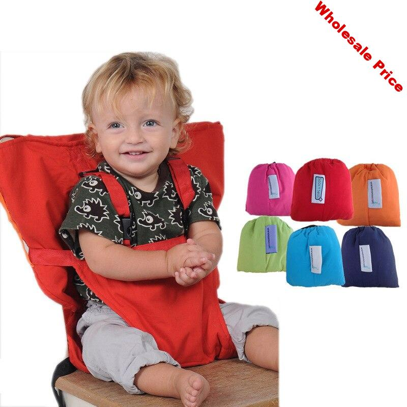 Baby Chair Bag Portable Infant Seat Product Dining Lunch Chair/Seat Safety Belt Feeding High Chair Harness Baby chair seat