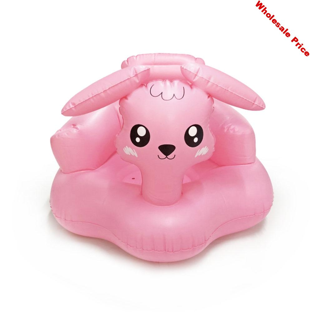 Baby Kid Children Inflatable Bathroom Sofa Chair Learn Portable Multi-functional Seat for Baby Educational Toy