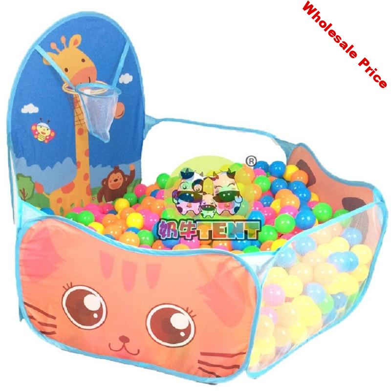 Baby Playpen Safety Tent for Children Indoor Ball Pool Play Tent Kids Hexagon Playpen Portable Foldable Playpens