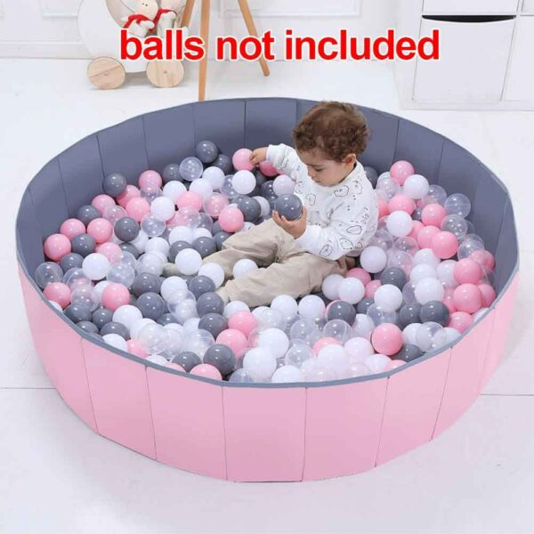 Yard Soft Foldable Playpen Washable Room Decor Indoor Outdoor Infant Tent Round Safety Fence Kids Play Portable Baby Ball Pool