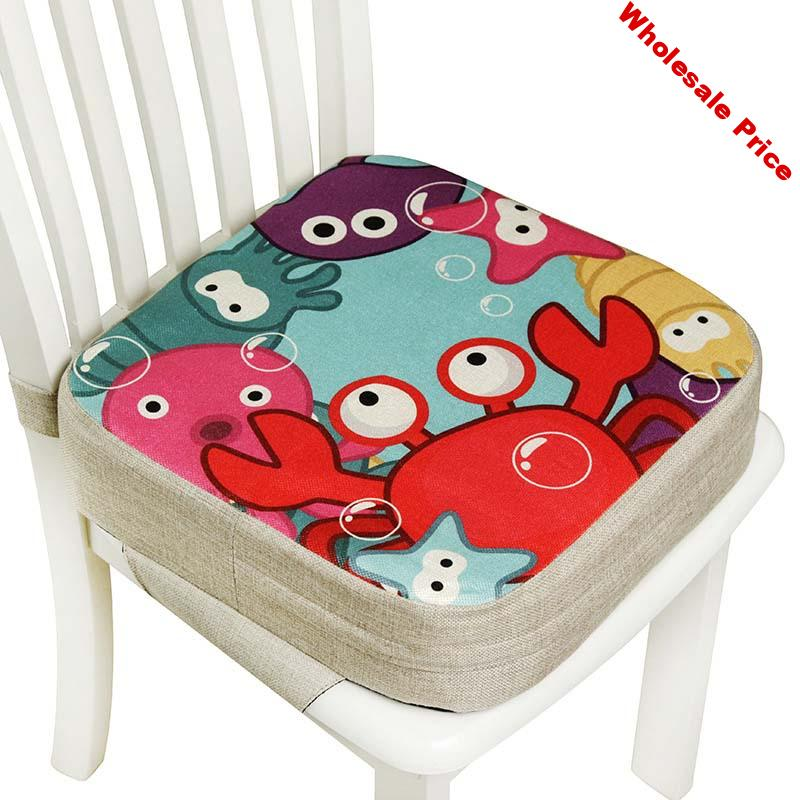 Increasing Seat Baby Increased Chair Pad Children Dining Cushion Adjustable Removable Highchair Chair Booster Cushion Seat Chair