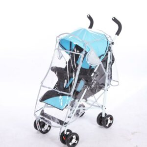 New Baby Buggy Rain Cover Transparent Baby Plus Windproof Waterproof Infant Pram Shield Pushchair Weatherproof Stroller Covers