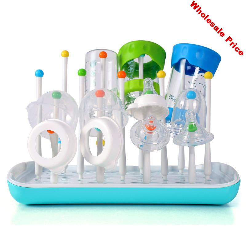 Baby Bottle Drying Rack Drainer Bottle Holder Portable Drying Cup Rack For Cleaning Bottle Drying Rack Cleaning Storage Dryer