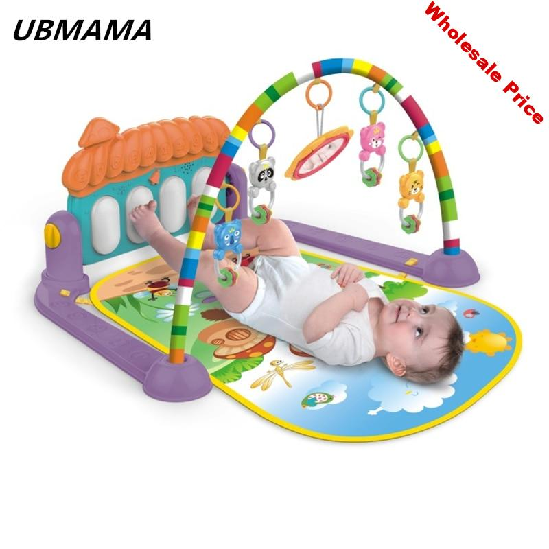 Baby Activity mats Early development activity mat with Piano Keyboard Infant toys Baby play toys Mat Kids Educational gym mats
