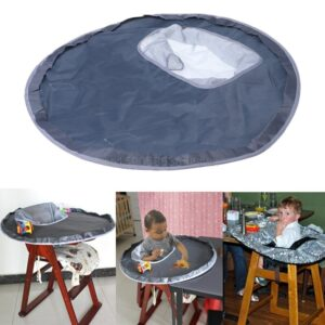 2018 New Baby Bibs Baby Eating Table Mat Feeding Chair Cushion Waterproof Round Folding Infants Pad