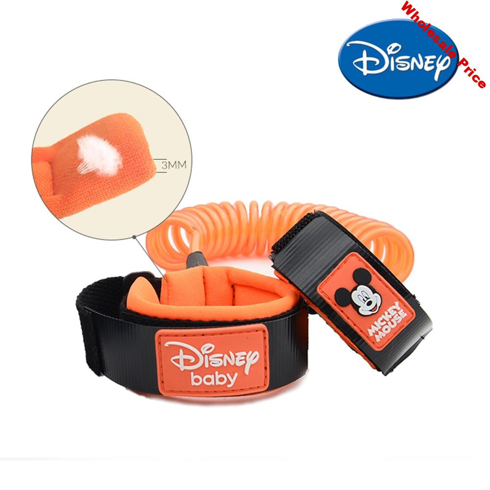Disney Safety Lock Kid Baby Anti Lost Wrist Link Harness Strap Rope Leash Walking Hand Belt Band Wristband for Toddlers Children