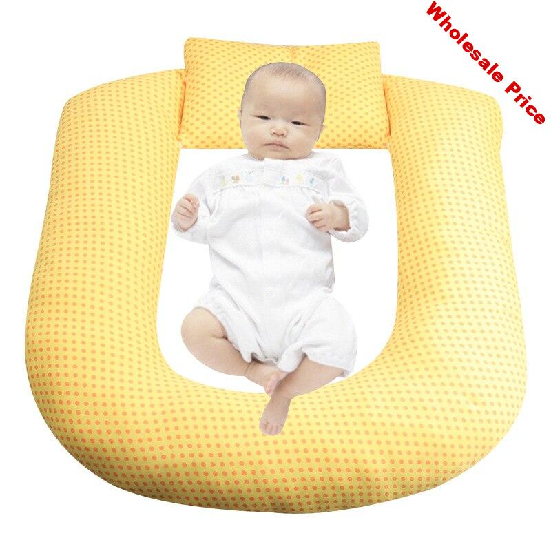 Dropshipping Baby Stereotypes Pillow Infant Newborn Anti-rollover Mattress Baby Sleeping Positioning Pad Breastfeeding Pillow