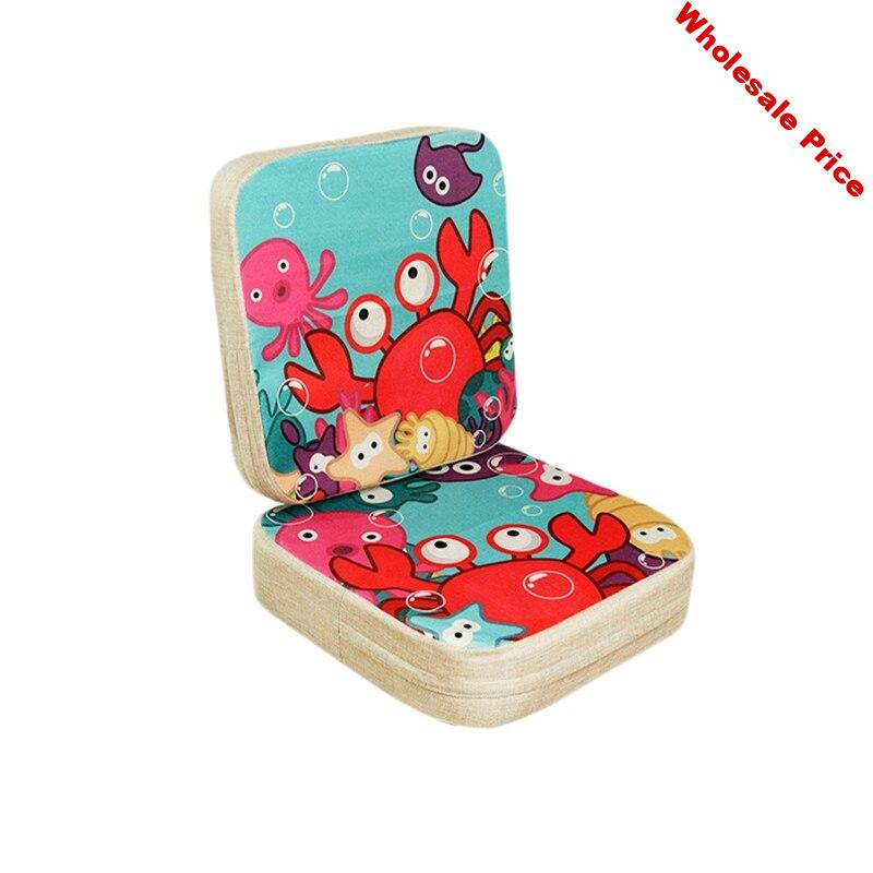 2 Pcs Baby Dining Chair Cushion Kids Increased Chair Pad Adjustable Highchair Chair Booster Cushion Seat Chair For Baby