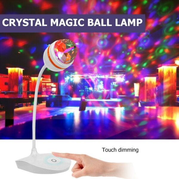 LED Bluetooth Speaker Disco Ball Light Laser Projection Lamp Laser Party Light 18W DJ Stage Rechargeable for stage party