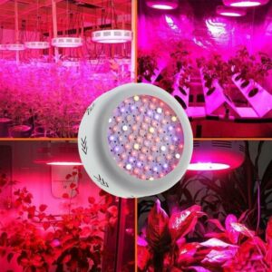 Dual Core 216 Watt LED Plant Growth Lamp Full Spectrum Indoor Fill Light UFO Plant Growth Lamp