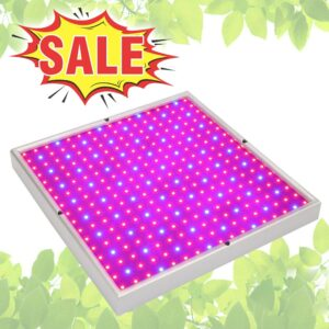 289LED Grow Light 20W Full Spectrum Plant Lamp For Indoor Hydroponic Greenhouse Tent Flower Vegetable Herb Growth Box