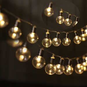 2.5M 20LED Waterproof Globe Bulbs Fairy String Light Indoor Christmas Garland Party Wedding Garden Holiday Home Decoration