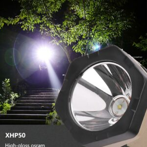1PC COB Side XHP50 + COB Glare Work Lamp USB Charging With Red Light P50 portable Lanterns for Indoor or Outdoor