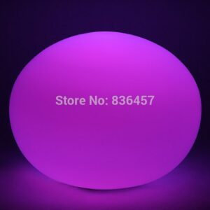 Glass ion ball  Multi Color LED Night Light glass plasma ball Mood Lamp Glow novelty led night lights