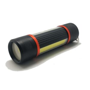 Mini LED Torch XPE COB  Flashlight Portable Suspensibility Penlight Sidelamp  Camping Outdoor Lamp Unrechargeable Flashlights